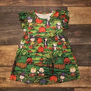 Other - Charlie Brown Pumpkin Dress
